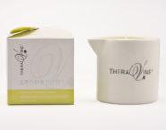 T676-2 AromaVine Lemon Zest Massage Candle (1)