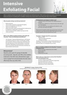 TREATMENT INFORMATIONAL - Intensive Exfoliating Facial