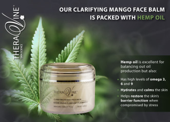 The Hemp Oil Hype -Our Clarifying Balm is packed with Hemp Seed Oil