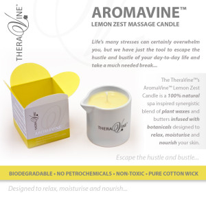 NEWS VIA THE GRAPEVINE - What makes our AromaVine Lemon Zest Candle so amazing